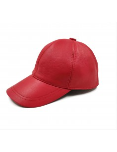 Unisex Δερμάτινο Καπέλο -...