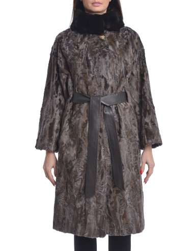 Coat Swakara Sections/Mink -...